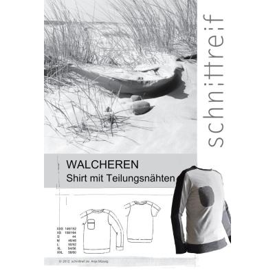 Walcheren - Shirt mit Teilungsnähten