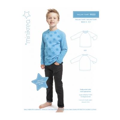 Raglan T-Shirt Basic - minikrea